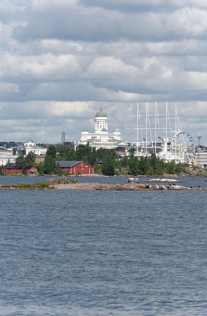 Kathedrale und Schiffe