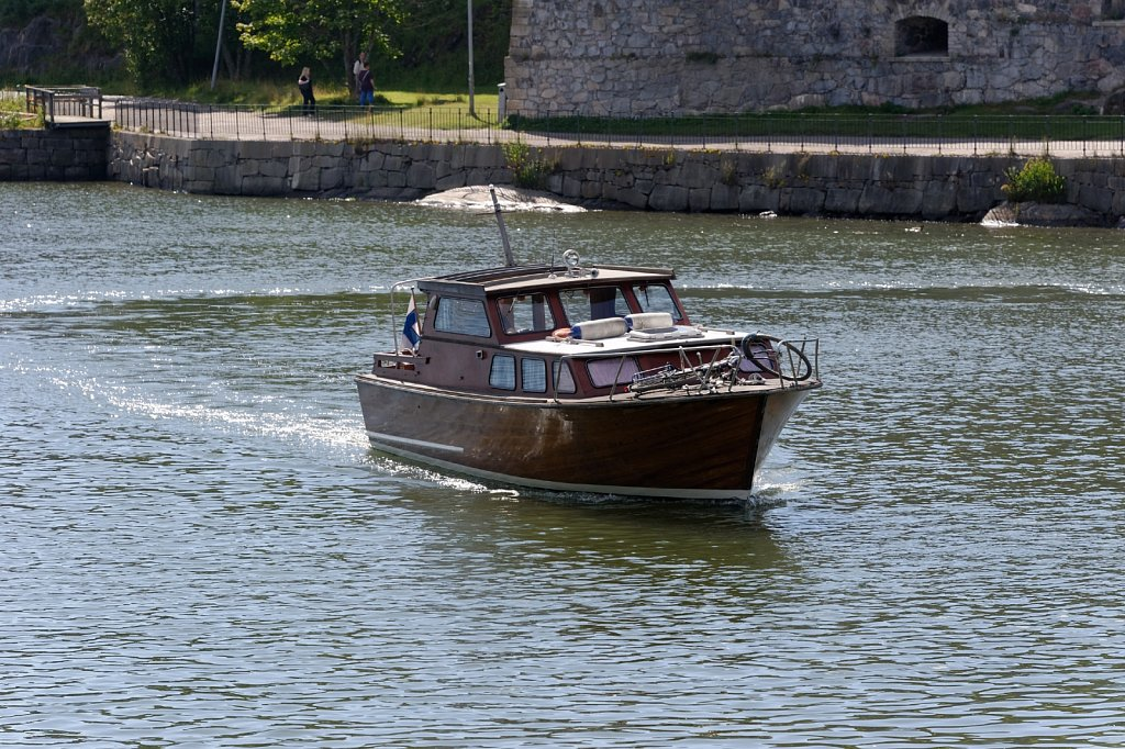 Boot und Rad